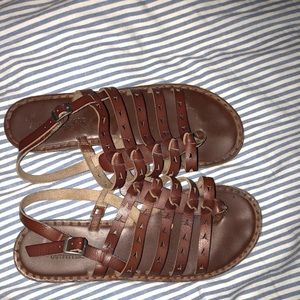 Brown American Eagle Sandals
